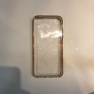 Clear iPhone 5 phone case